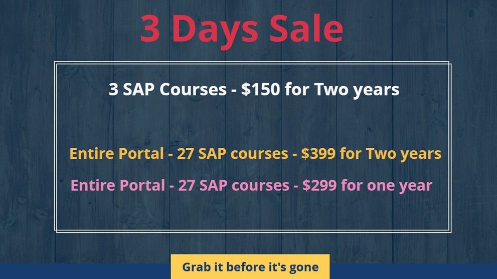 Sap Online Video Based Training Expert Level Data Security Courses View All And Pricing